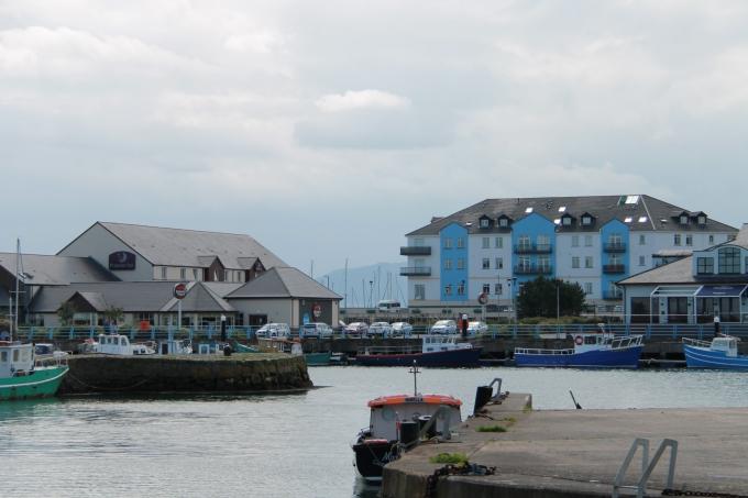 Belfast nähtävyydet turistibussista ja Belfast lasten kanssa / Belfastin linnat, Carrickfergus
