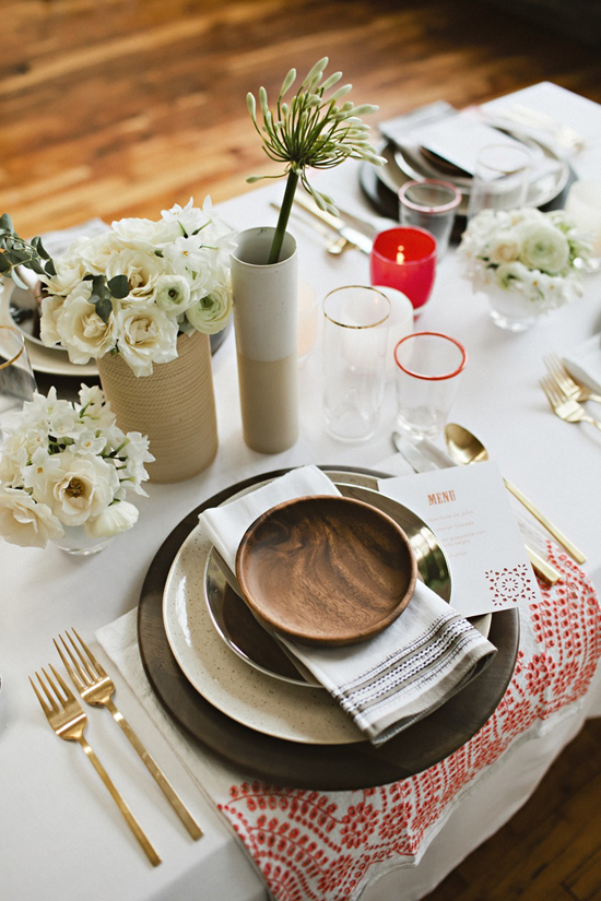 Welcoming tablescape