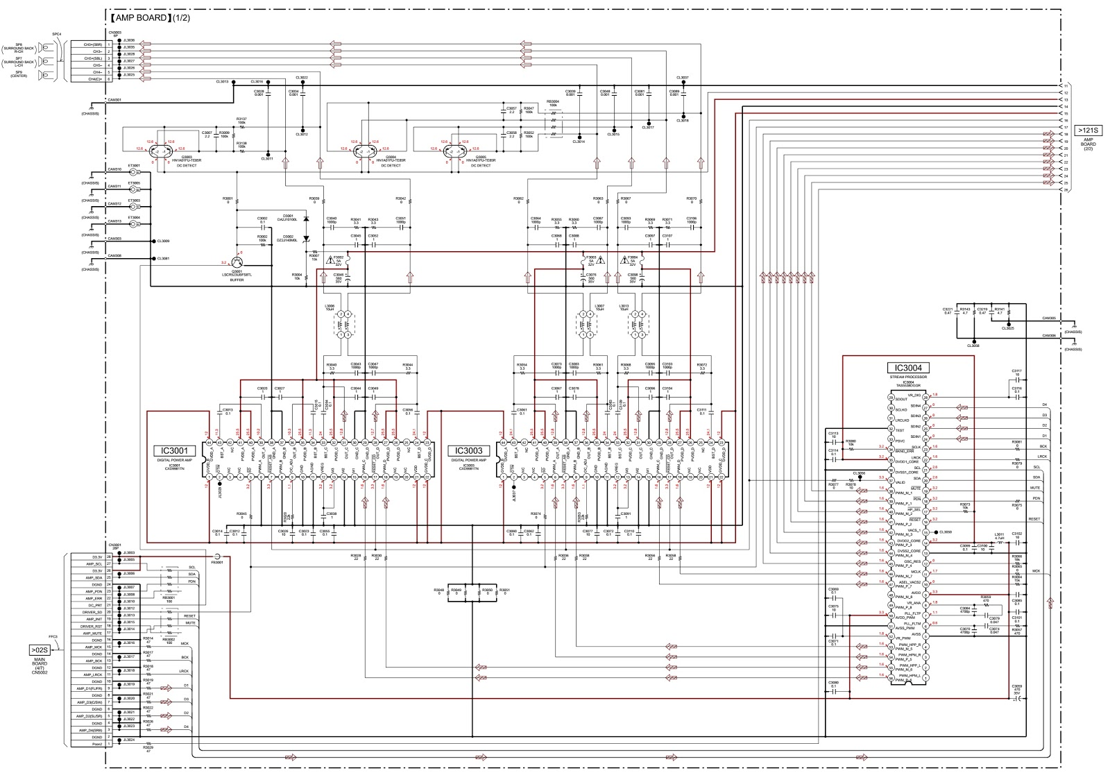 Sony Sound Bar Wiring Diagram Schematics Surround Free Download Ht St7 Example Electrical U2022