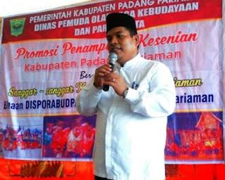 """Wabup Suhatri Bur Apresiasi Program """"Lampu Listrik Mandiri Rakyat"""" di Kabupaten Padang Pariaman"""