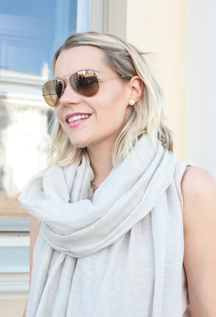 Balmuir Scarf Ray Ban Aviator My Style Classy Outfit