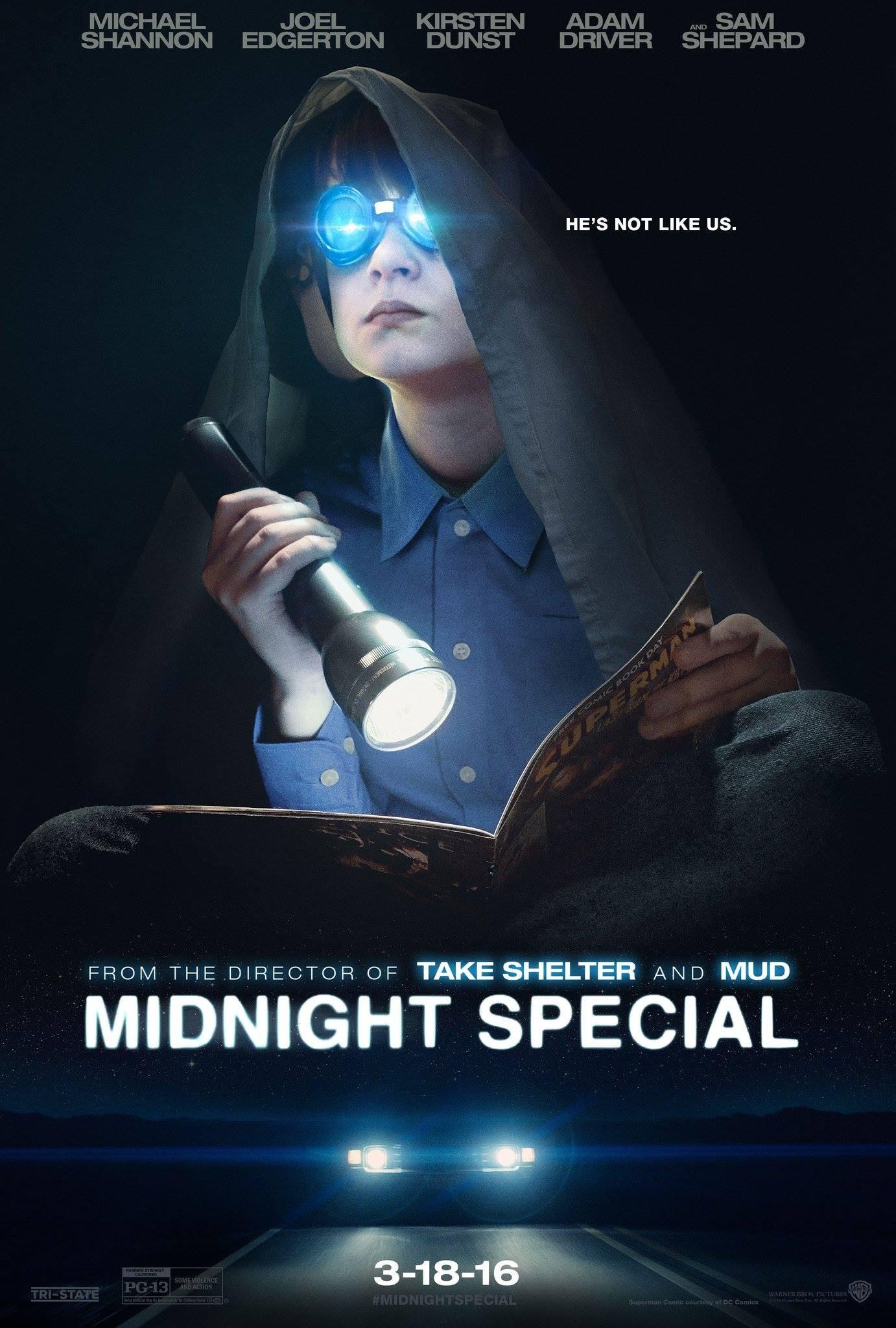 midnight special film recenzja shannon dunst edgerton driver
