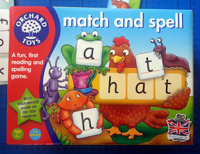 Orchard Toys Match And Spell game review