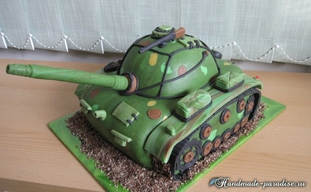 203Торт танк своими руками рецепт