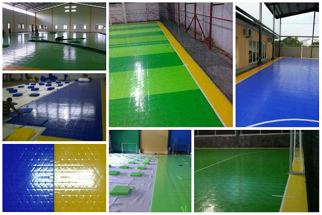 Interlock Flooring Futsal