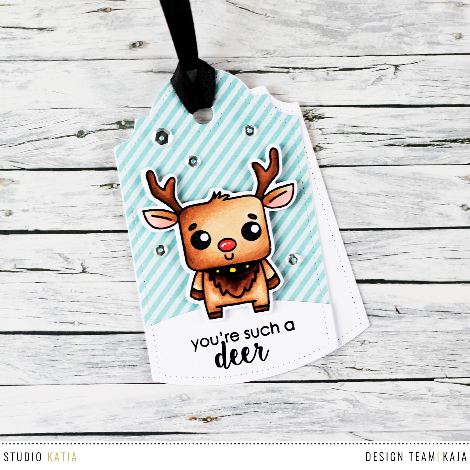 25 days of Christmas tags | STUDIO KATIA