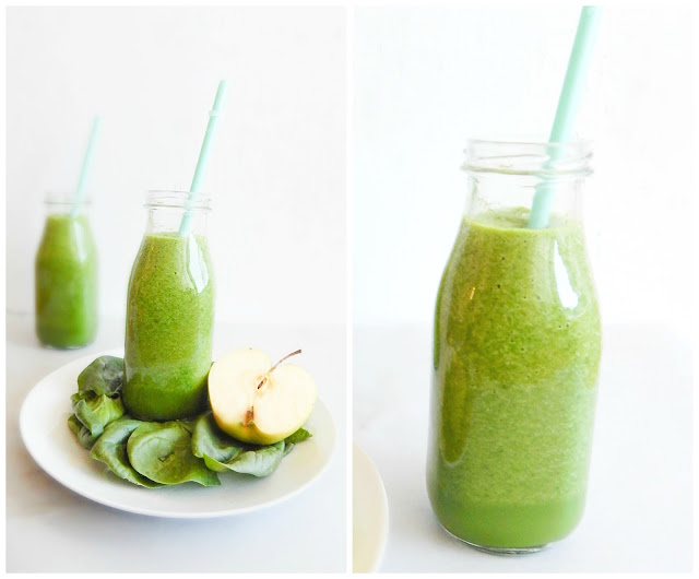 Healthy Spinach Smoothie | Green Detox Smoothie