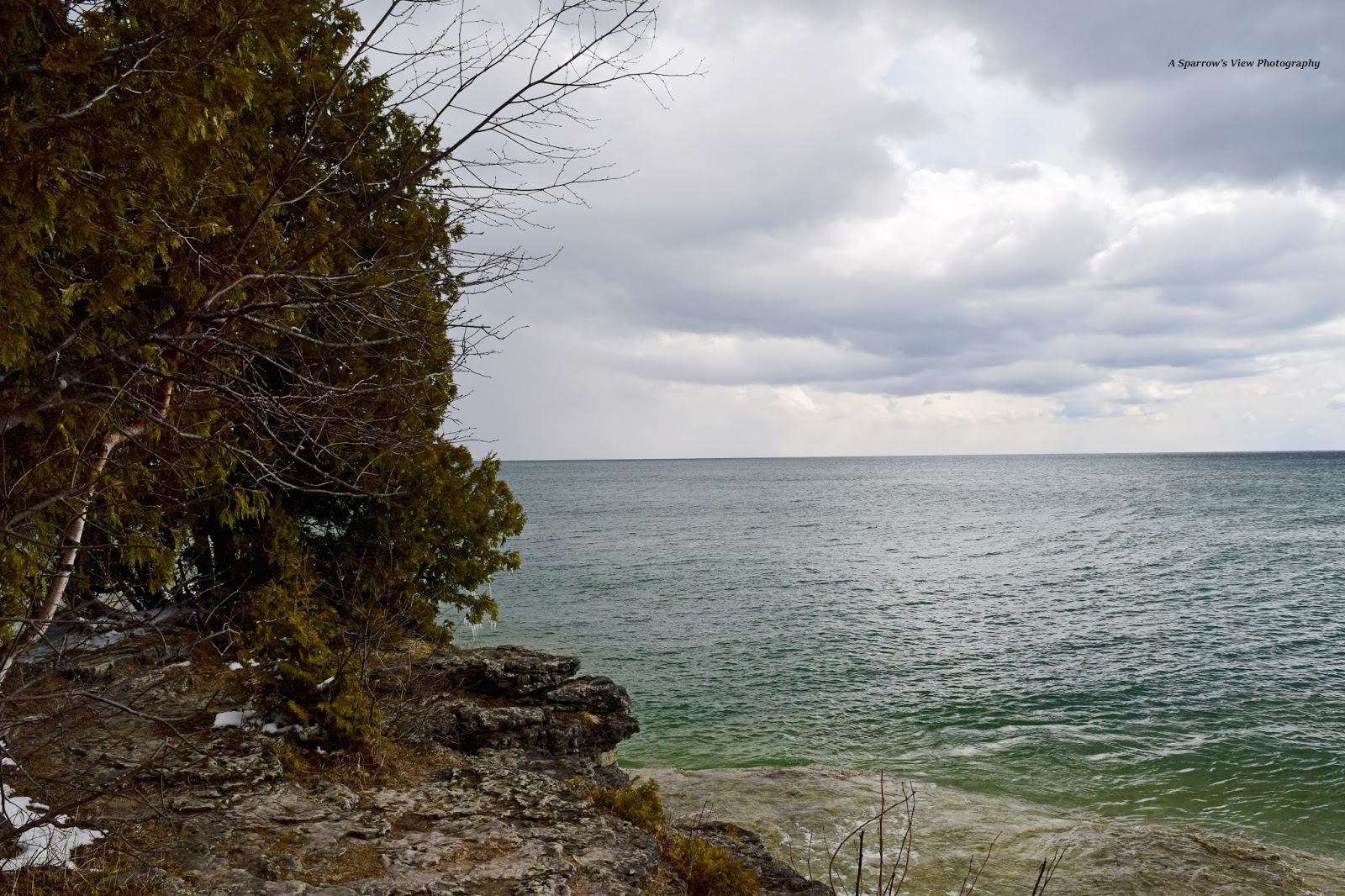 Cave Point Lake Michigan Door County & A Sparrowu0027s View Photography: Cave Point Lake Michigan Door County
