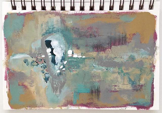 art journal entry - Color Background - Jan-25-2019