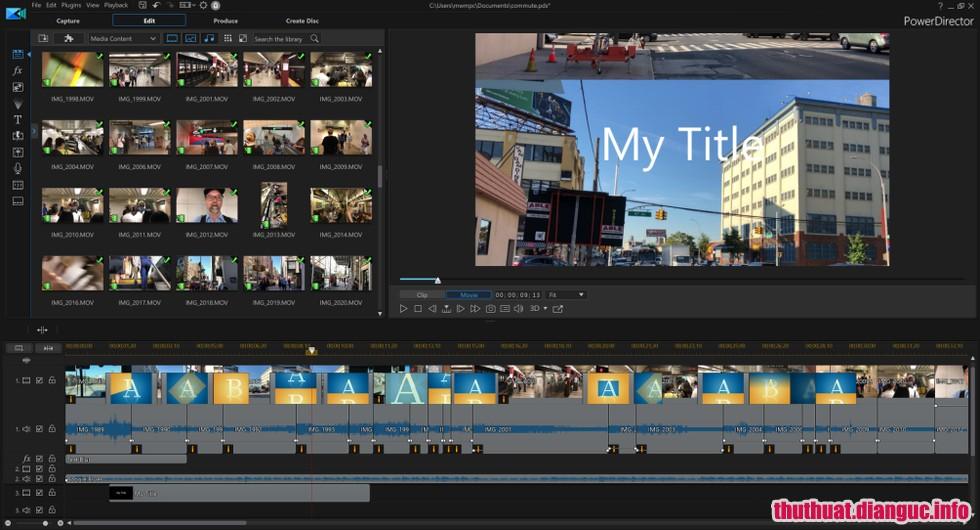 Download CyberLink PowerDirector Ultimate 17.0.2314.1 – Phần mềm biên tập video tốt nhất