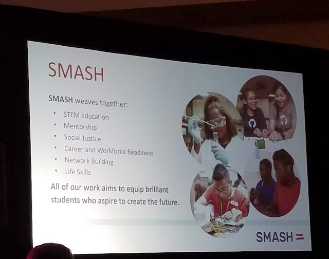SMASH education STEAM STEM Education Wonder Women Tech Conference