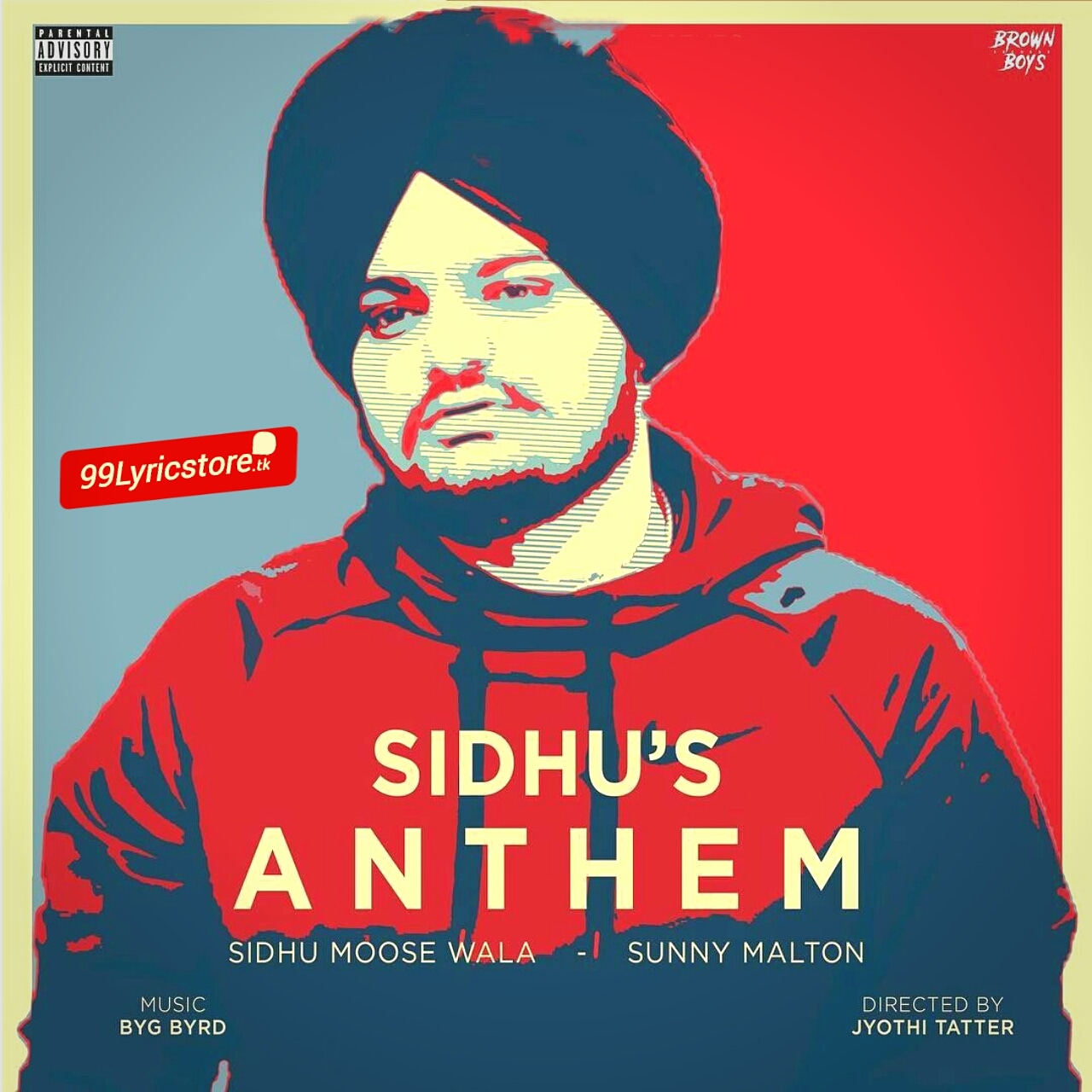 Sidhu's Anthem Punjabi Song Lyrics
