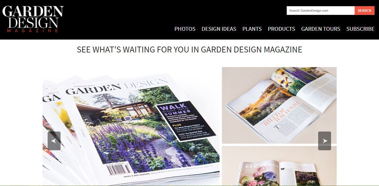 danger garden Garden Design Magazine win a years subscription