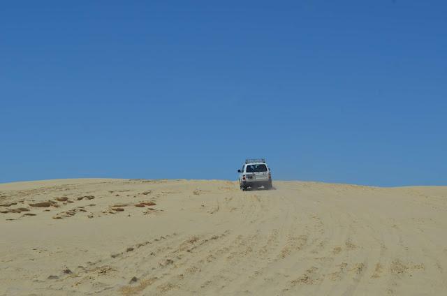 4x4 do deserto do Sahara
