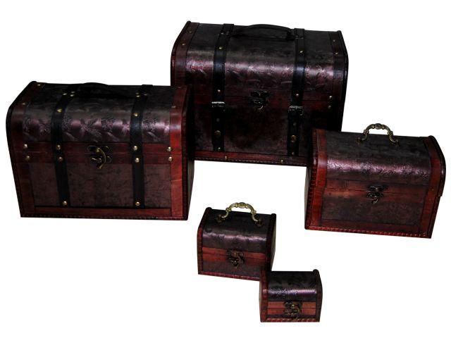 Mini baules originales para recuerdos de invitados - Baules baratos madera ...