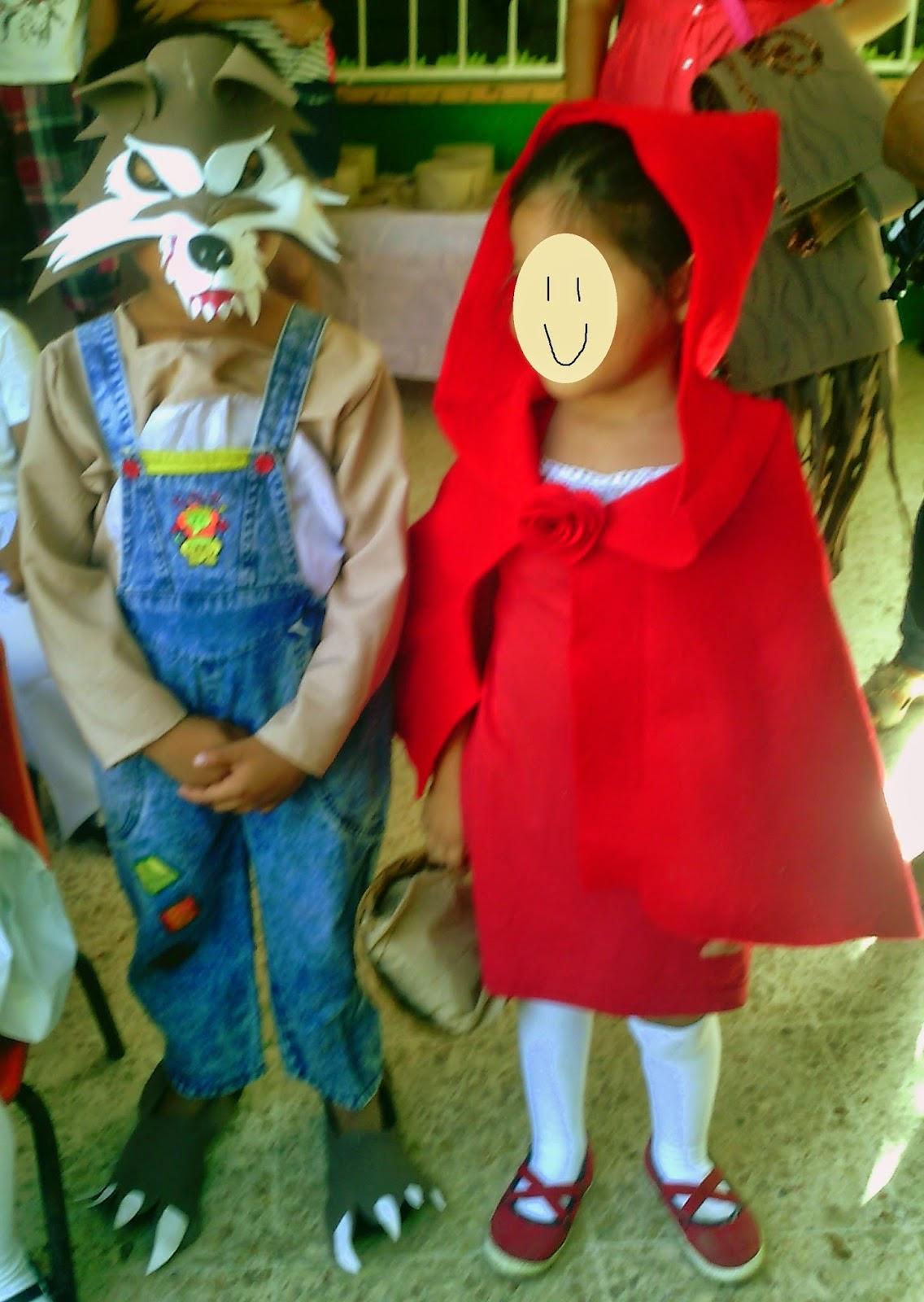 Disfraz De Caperucita Roja El Detalle Que