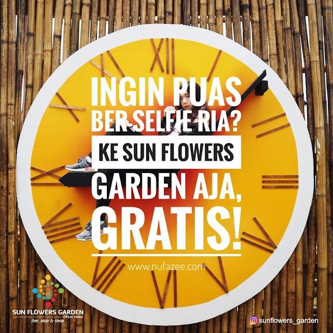 Ingin Puas Ber-Selfie Ria? Ke Sun Flowers Garden Aja, GRATIS