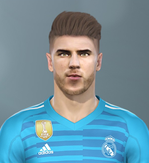 PES 2019 Faces Luca Zidane by Sofyan Andri