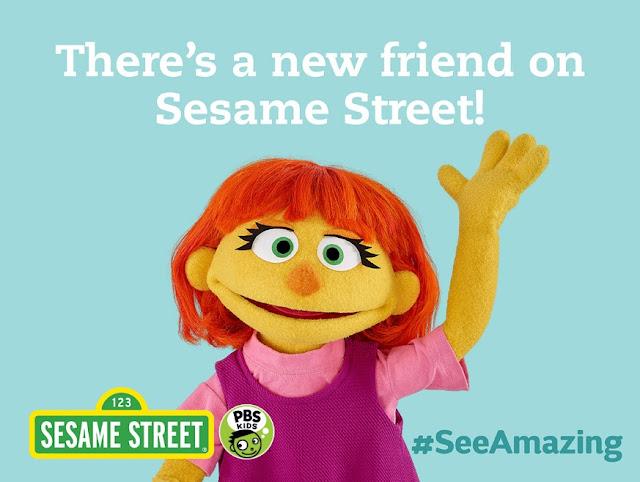 Sesame Street's New Autistic Character Julia
