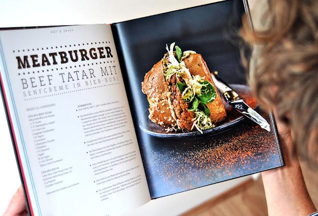 Burger aus der Grillbuch New BBQ Burger von Manuel Weyer