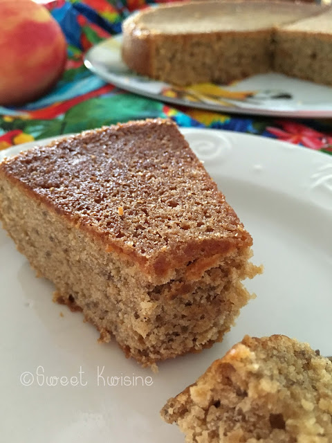 sweet kwisine, pomme, graines de chia, sans oeuf, cake, sans cholestérol, sans beurre, cannelle, vegan