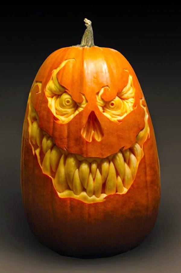 Evil Grinning Pumpkin