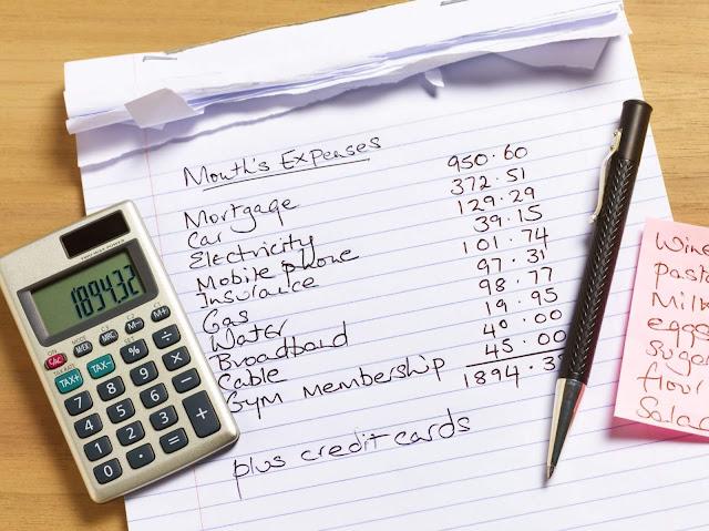 قائمة النفقات