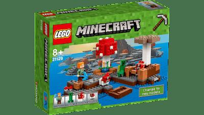 caja lego minecraft mushroom island