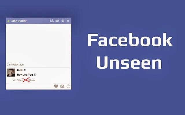 طريقة الغاء تم مشاهدة الرسالة على دردشة الفيس بوك 1