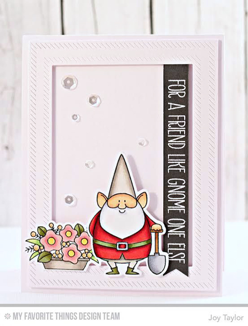 Handmade card from Joy Taylor featuring products My Favorite Things #mftstamps