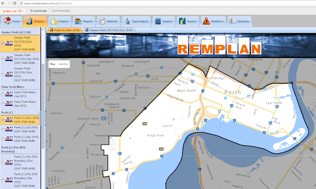 REMPLAN Economy Software