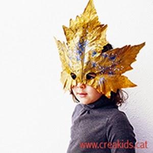 CreaKids: máscaras con hojas