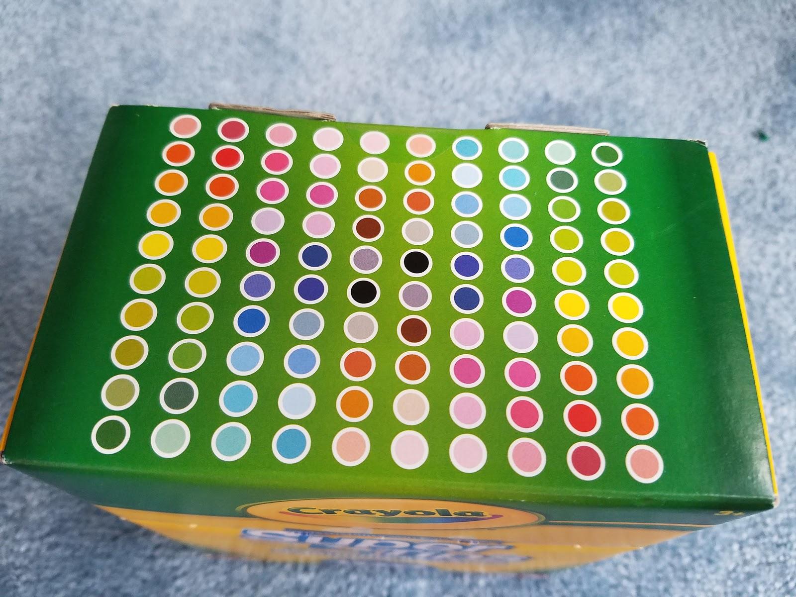 Affordable Art Supplies: Crayola Super Tip 100 Pack   Nattosoup