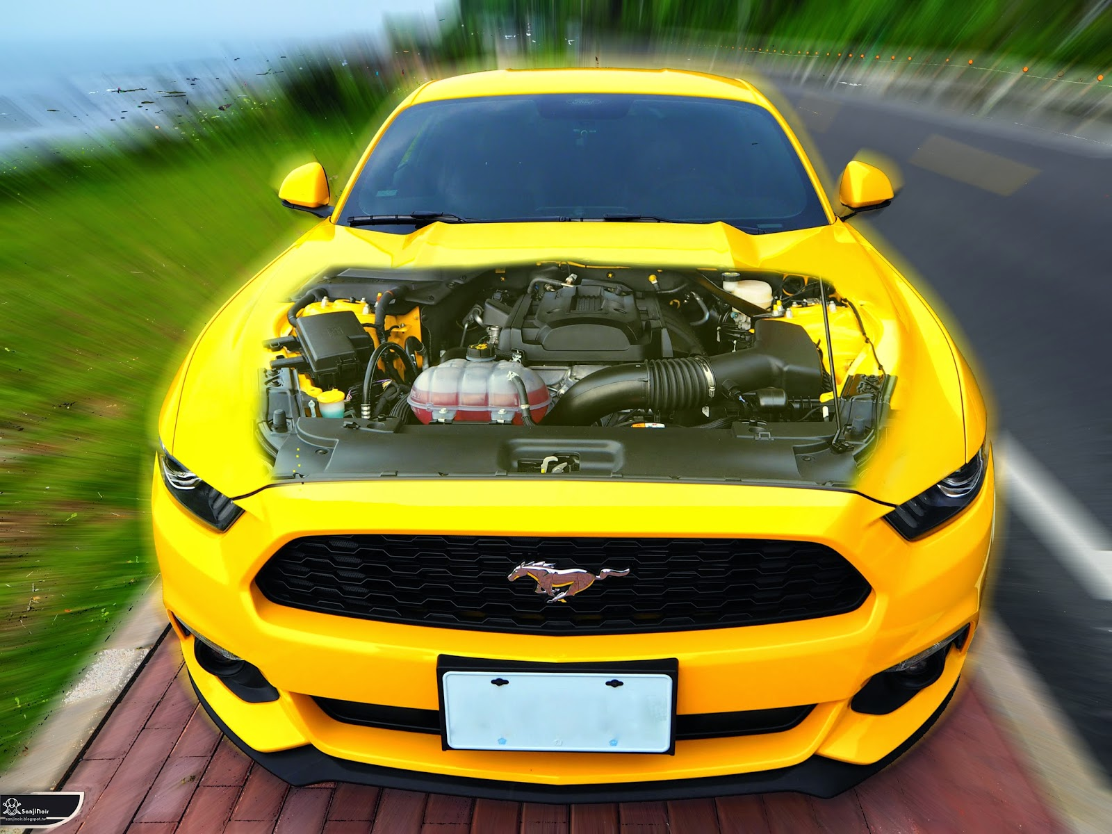 開箱試駕 真外掛無雙!2015福特野馬跑車Ford Mustang 2.3 EcoBoost