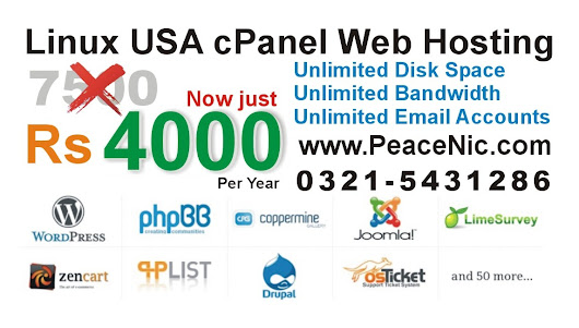 Limited Time Promo 47% OFF Linux USA cPanel Web Hosting