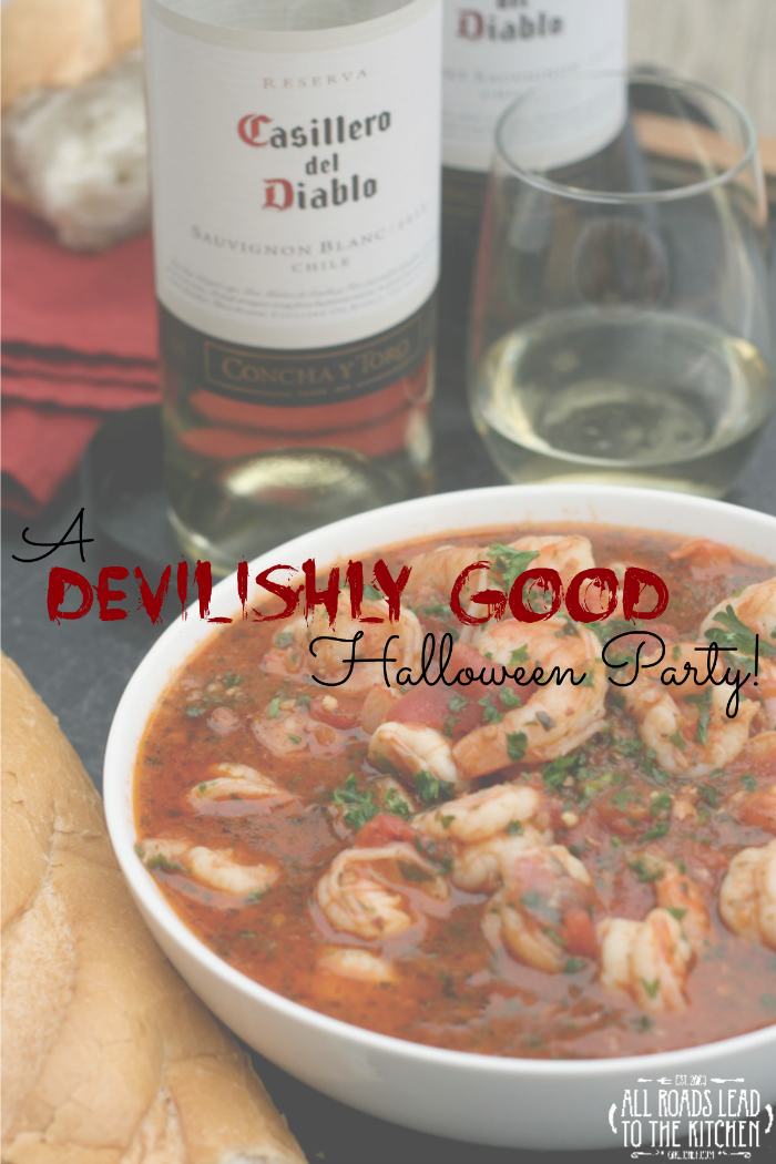 A Devilishly Good Halloween Party!