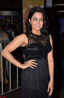 Wamiqa Gabbi in a sleeveless Black Designer Transparent Gown at 64th Jio Filmfare Awards South ~  Exclusive 034.JPG