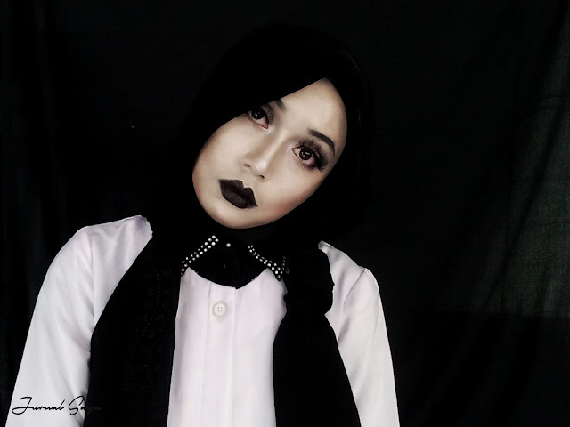 halloween make up wednesday addams