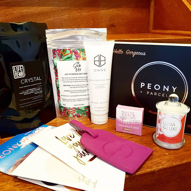 Peony Parcel subscription box | Almost Posh