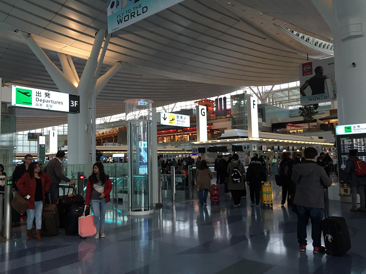 あるエンジニアの呟き: HND-TSA/-HND (3) - 出発当日