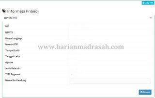 Cara Edit TMT Guru di EMIS Madrasah