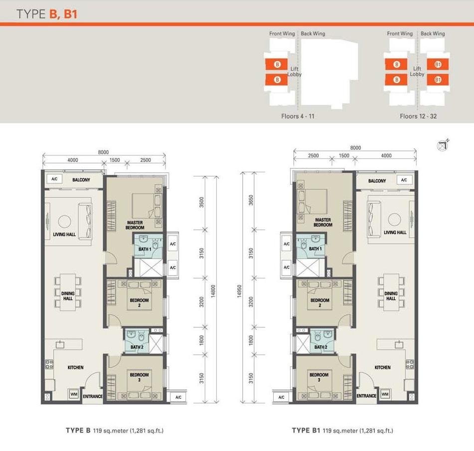 1 Desa Residence Floor Plan Review For M Residence 2