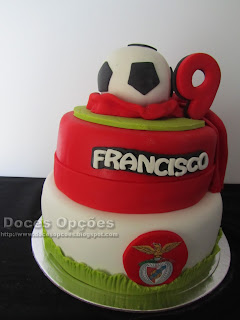 slb benfica football cake