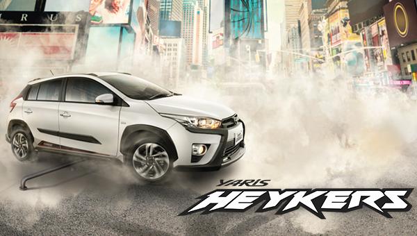 Spesifikasi Harga Kredit & Cicilan Toyota Yaris Heykers Surabaya