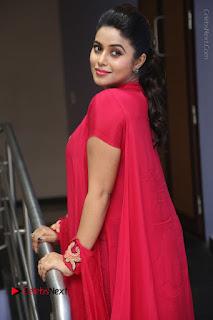 Actress Poorna Latest Stills in Red Dress at Rakshasi First Look Launch  0198.JPG
