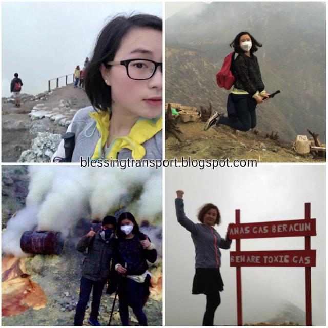 Wu Xia, Yeqing Liao, Xiao Jing and her mom. Transport from Surabaya to Bromo-Ijen-Transfer to Ubud/Bali