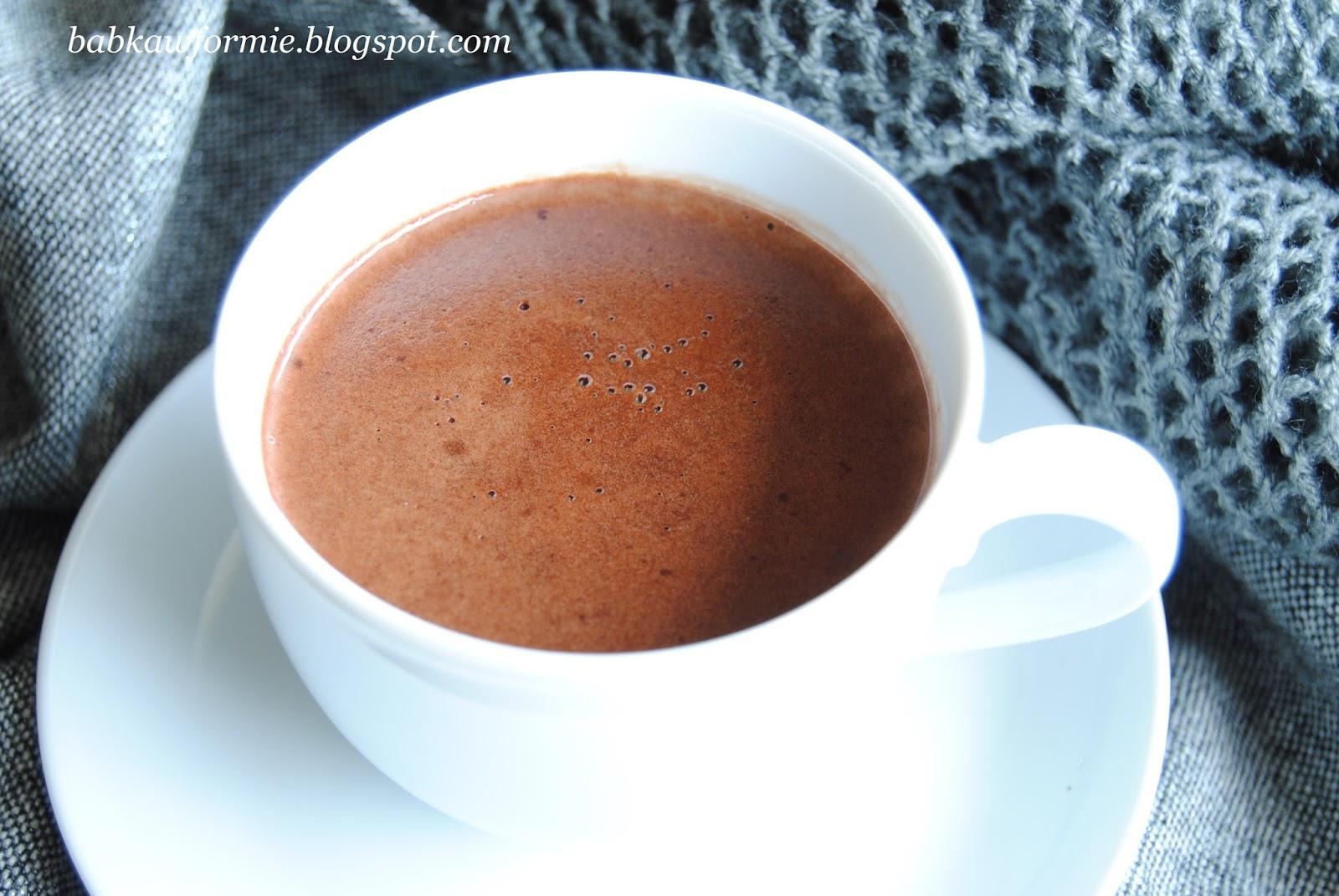 czekolada na gorąco do picia najlepszy przepis babkawformie.blogspot.com