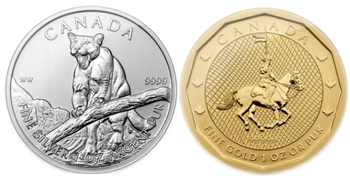 Coin Collecting News: Canada Introduces New Silver Cougar and Gold