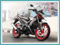 Honda Sonic 150R (New Racing Red)