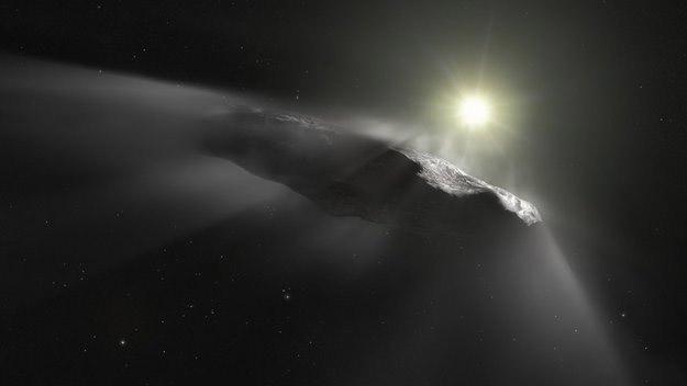 oumuamua - cometa ou asteroide